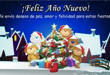 Tarjetas de Feliz Año Nuevo 2016 para Felicitar Gratis