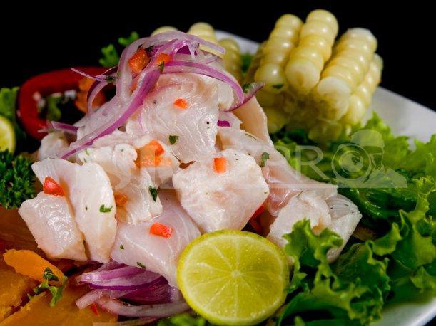 receta para hacer ceviche de pescado peruano