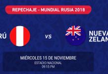 Resultados del Sorteo de entradas Perú vs Nueva Zelanda se publicará en www.teleticket.com.pe este Lunes 06 Noviembre 2017