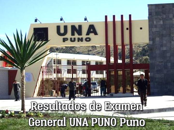Lista de Ingresantes Examen General UNA Puno