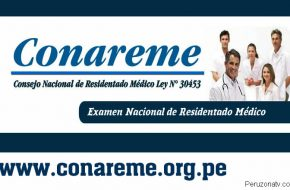 Ingresantes Residentado Médico CONAREME 2018 Resultados en www.conareme.org.pe (Examen domingo 3 Junio 2018)