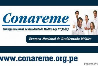 Resultados de Examen Residentado Médico CONAREME