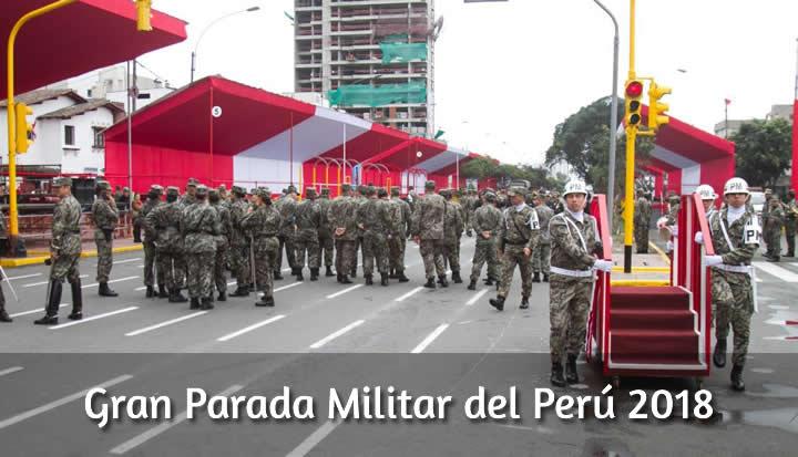 ver Parada Militar en vivo 2018