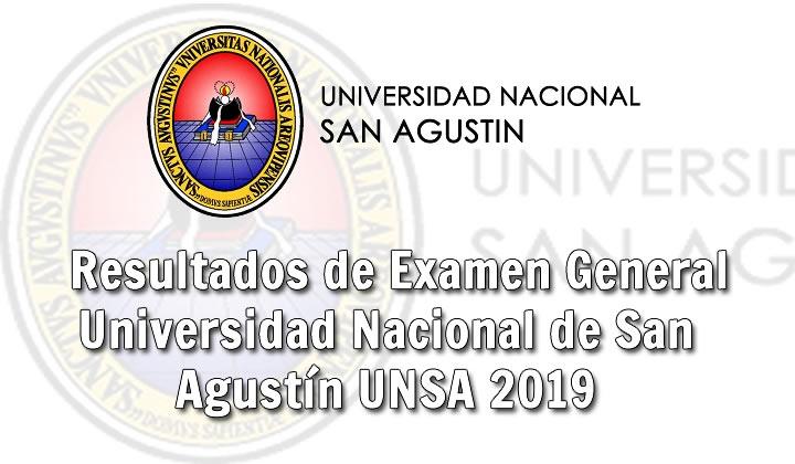 Ingresantes examen de admisión UNSA 2019 Fase I