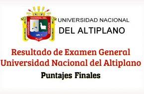 Ingresantes UNA Puno 2018-2 Resultados en www.unap.edu.pe Universidad Nacional del Altiplano (Examen 5 de Agosto 2018)