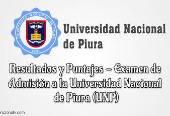 Resultados de Examen UNP