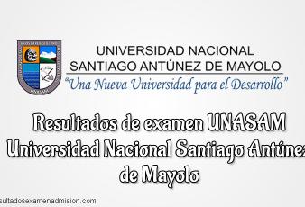 Resultados de Examen UNASAM