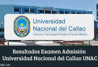 Resultados Examen Admisión UNAC