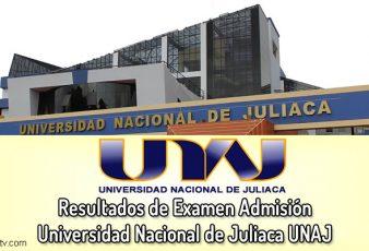 Resultados Universidad Nacional de Juliaca UNAJ
