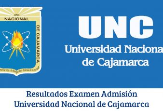 Resultados de Examen Universidad Nacional de Cajamarca UNC