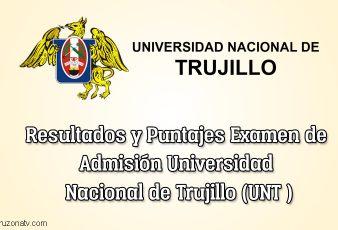 Resultados Examen de admisión UNT