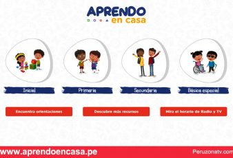 Ingresar Plataforma virtual aprendoencasa.pe