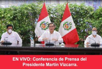 Ver Conferencia de Prensa del Presidente de la república