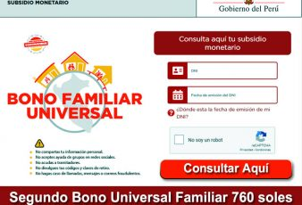 Ver con DNI Segundo Bono Familiar Universals 760