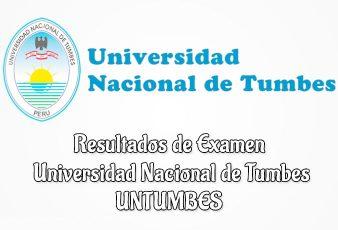 Resultados UNTUMBES Ingresantes Universidad Nacional de Tumbes