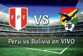 Perú vs Bolivia en VIVO Partido en vivo